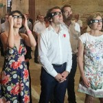 Avignon_Theatre Glasses_MinisterofCulture FleurPellerin_MinisterofEconomyEmmanuelMacron
