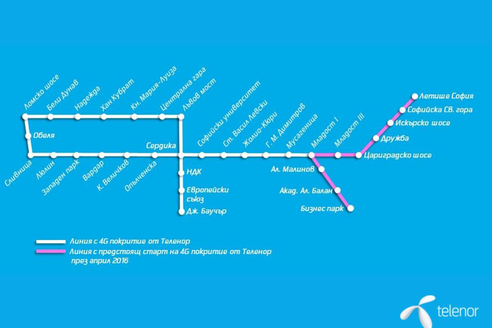 Мотрисите по третия лъч на метрото ще се движат без шофьор