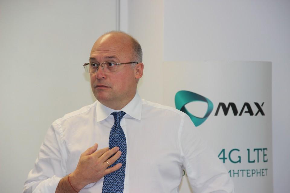 Нейчо Величков, Изпълнителен директор Макс: Ще пуснем гласова услуга с национално покритие