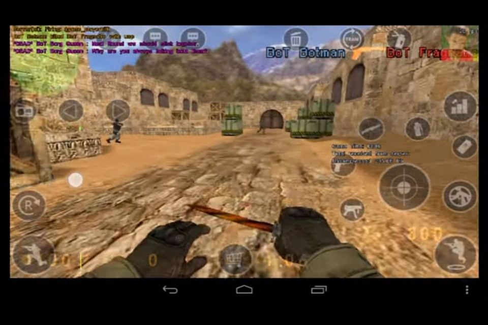 Излезе Counter Strike за Android