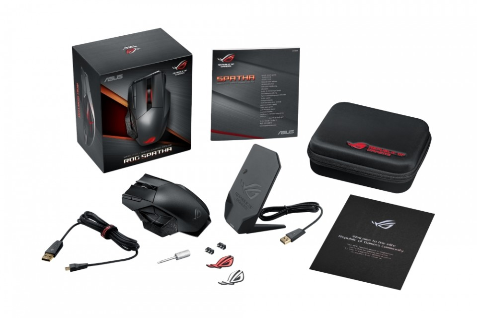 ASUS Republic of Gamers представи Spatha