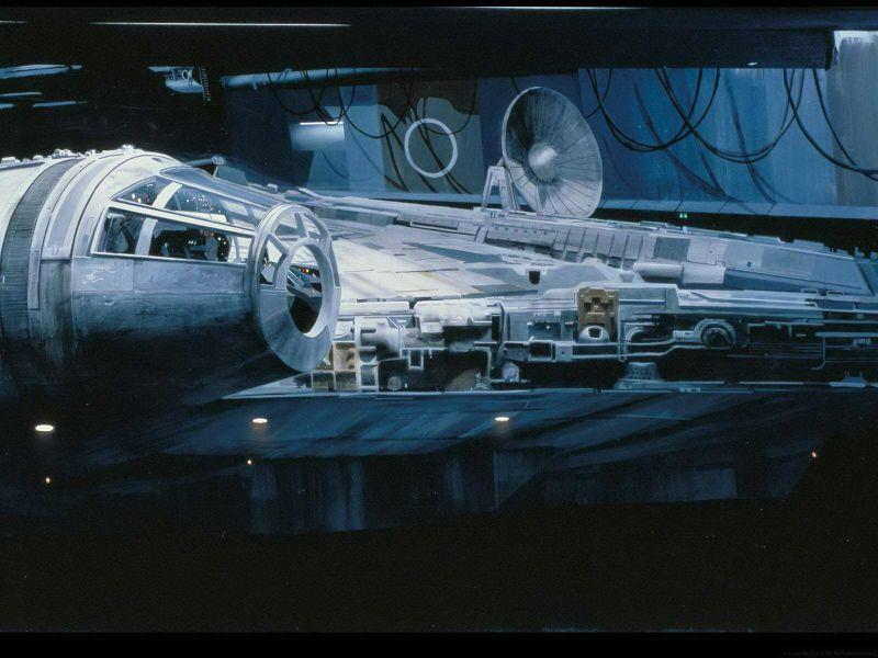 Star Wars matte painting