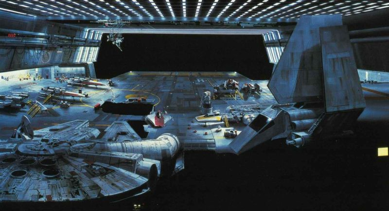 Star Wars matte painting7