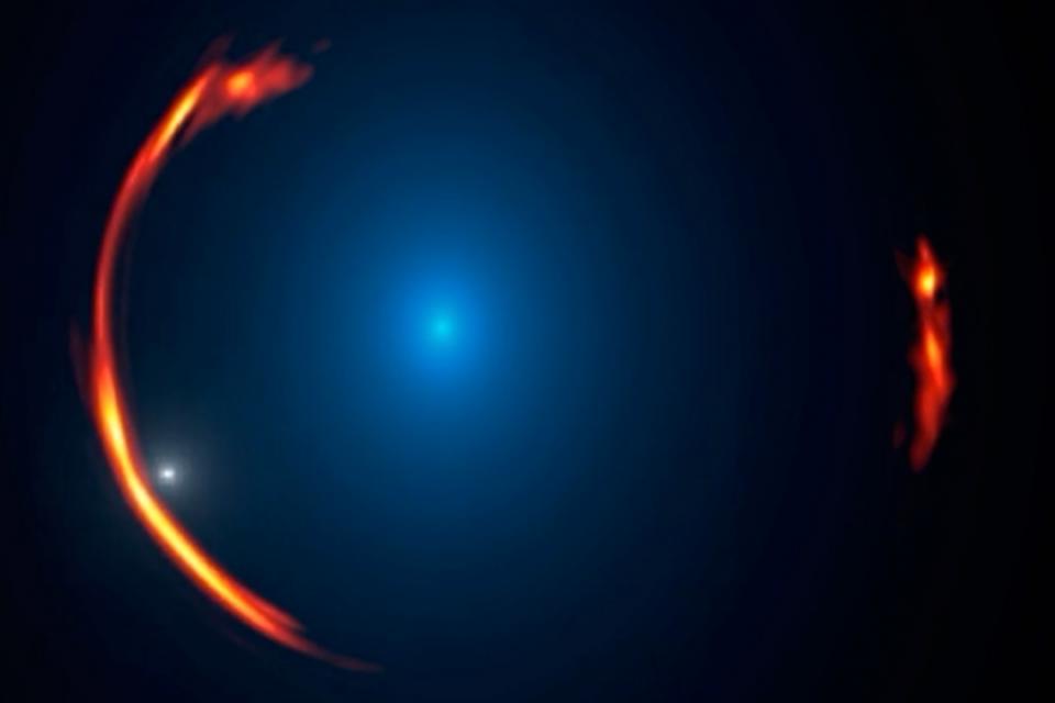 Астрономи откриха невидима галактика от тъмна материя