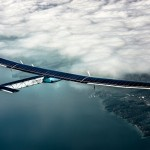 Solar Impulse 2 up in the clouds