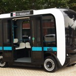 olli autonomous bus connected car