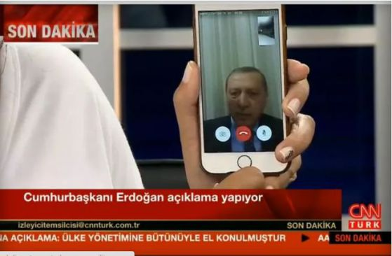 FaceTime Erdogan