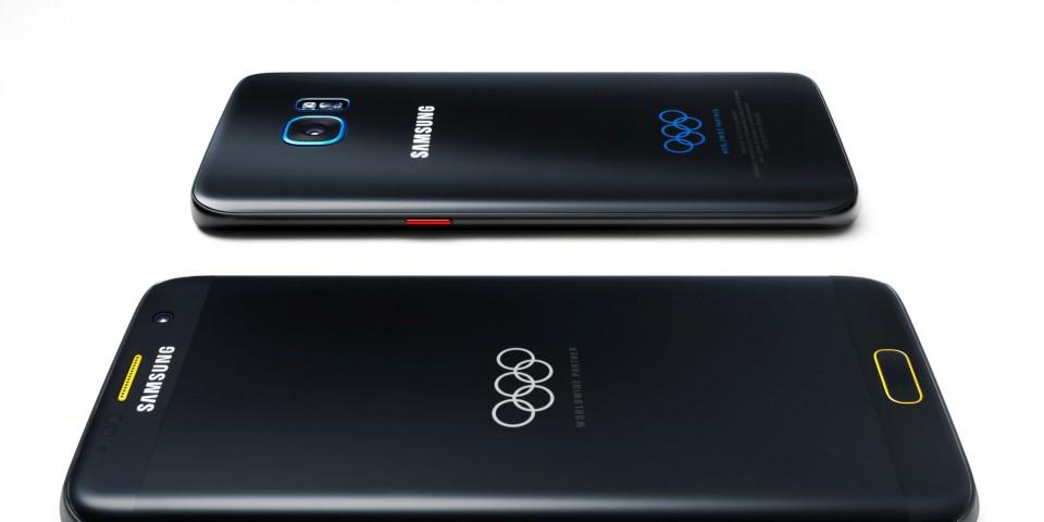 Samsung с лимитирана серия Galaxy S7 Edge за Олимпийските игри