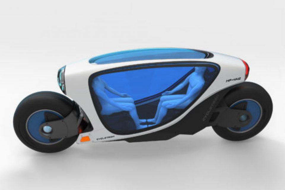 Този футуристичен мотоциклет ще промени персоналния транспорт