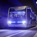 mercedes benz autonomous bus