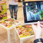 augmented reality dobavena realnost chervenata shapcica puzzle