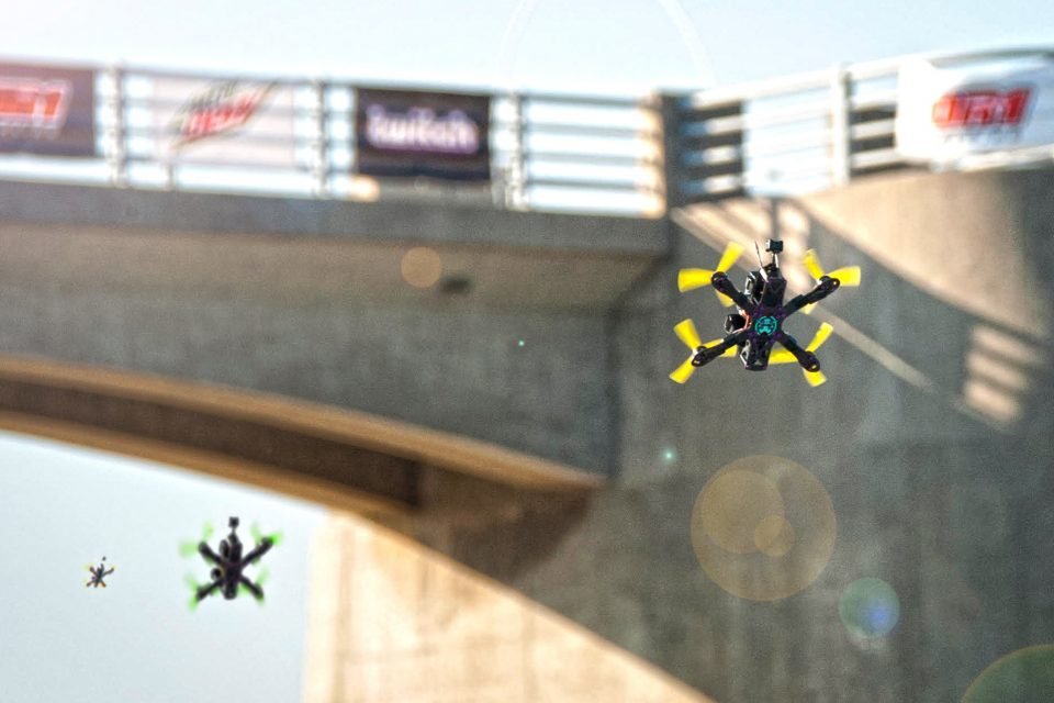 Състезанията с дрони влизат в ефира на Евроспорт от ноември