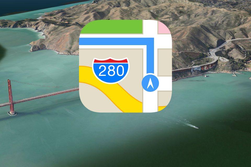 Apple Maps вече е достъпна и у нас