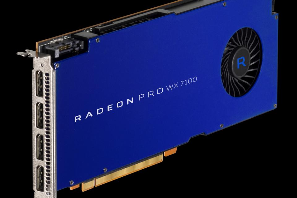 AMD стартира продажбите на графичните карти Radeon Pro WX