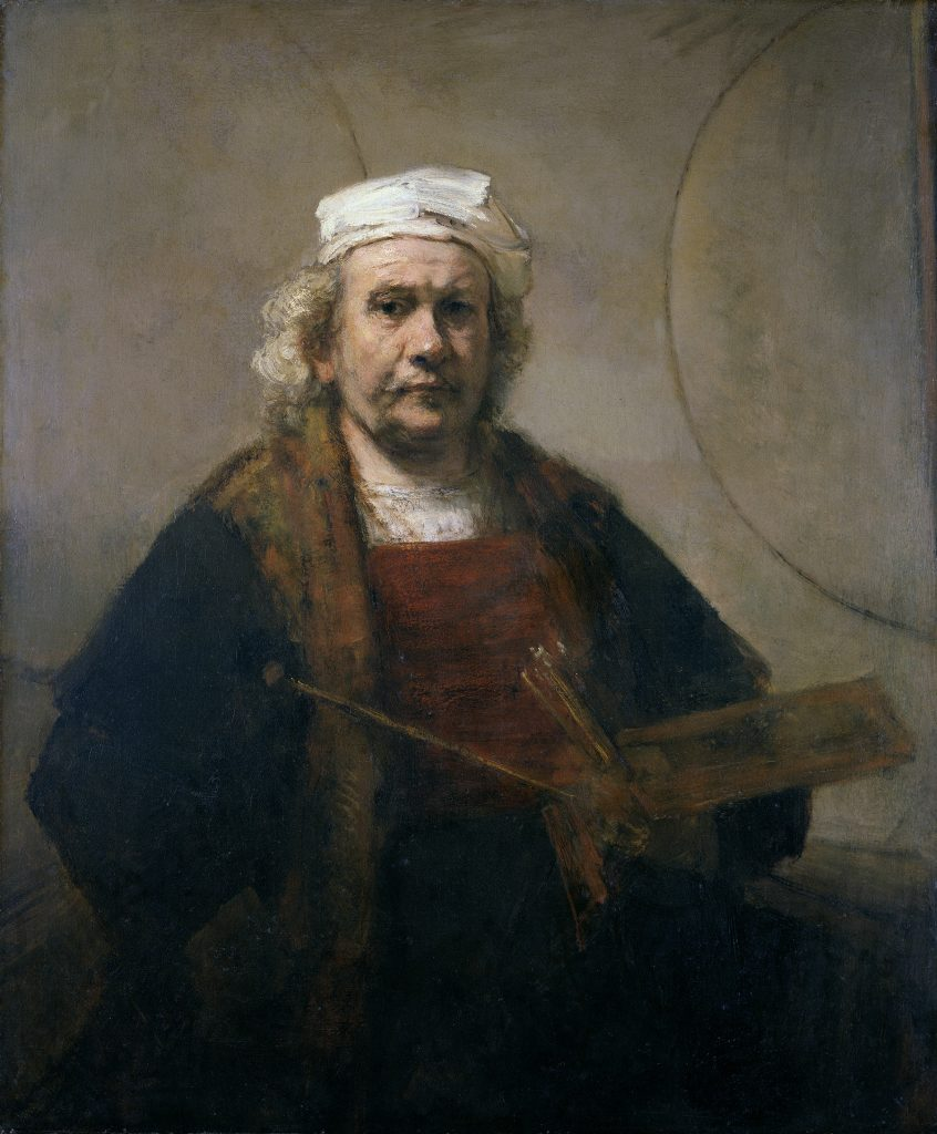kenwood the iveagh bequest self portrait c1665 by rembrandt