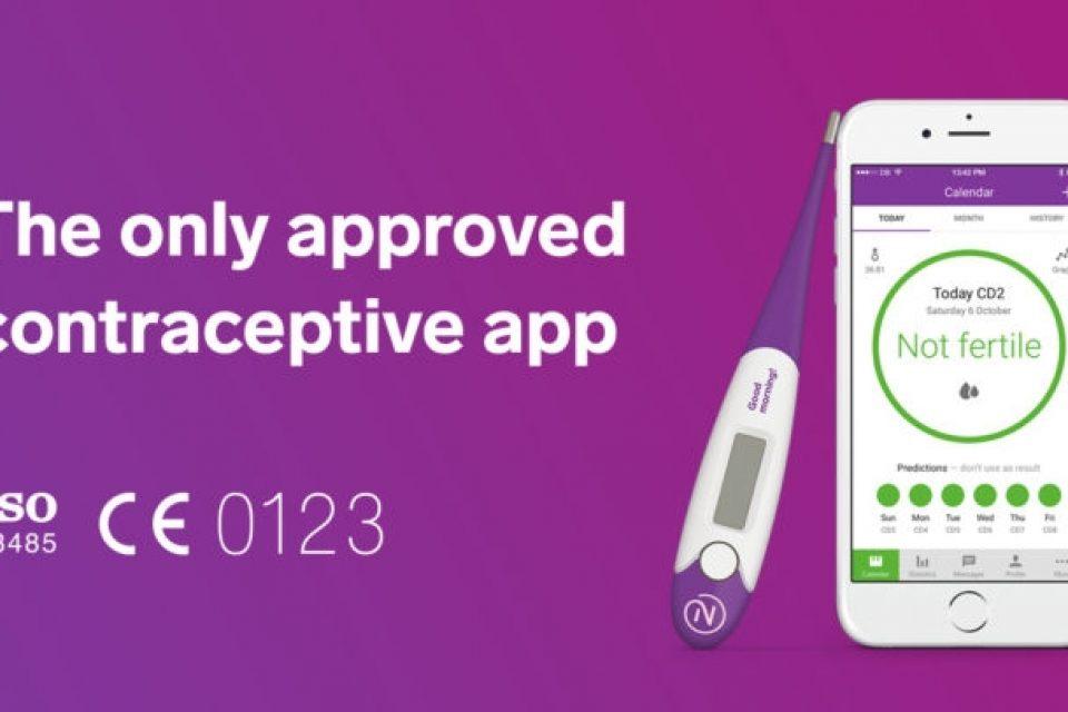 Мобилно приложение официално признато за контрацептив