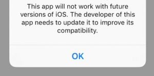 iOS-11-32-bit-app-warning