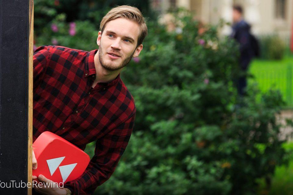 PewDiePie изгуби за кратко короната на най-популярен YouTube стриймър