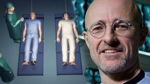 head transplant operation Sergio Canavero