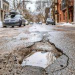 дупка на пътя