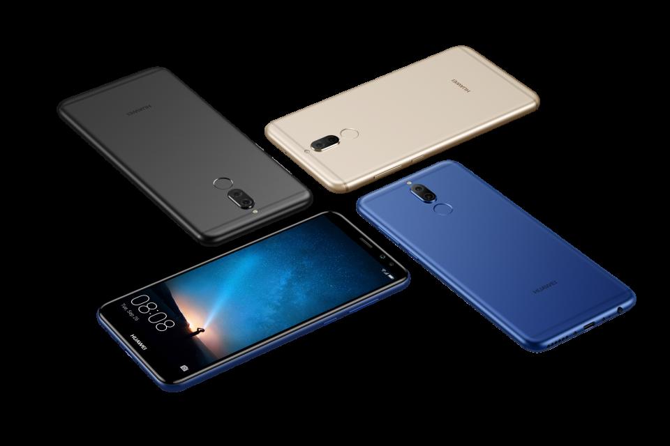 Huawei представи новия Huawei Mate 10 lite с двойна предна и основна камера