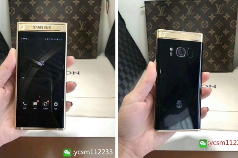Сгъваемият смартфон на Samsung, W2018 се появи във видео