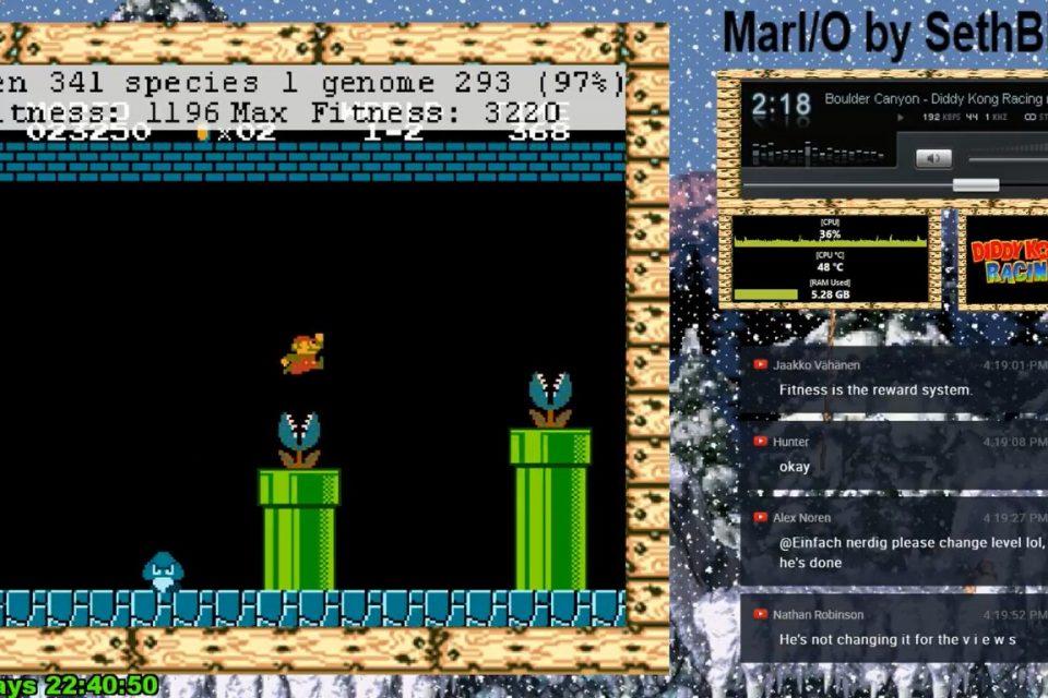 "Изкуствен интелект играе ""в ефир"" Super Mario (видео)"