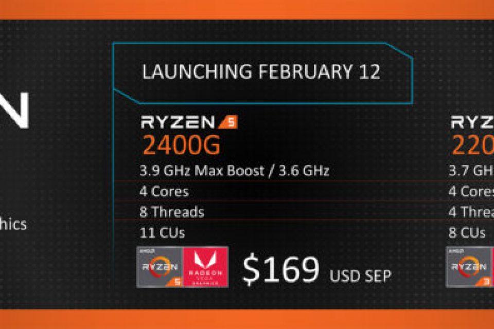 Първите AMD Ryzen™ APU за настолни РС са вече на пазара