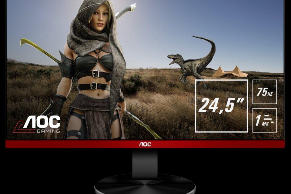 Новите достъпни геймърски дисплеи AOC G90 вече са налични