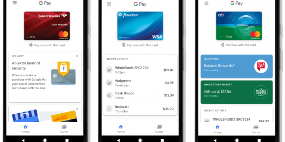Android Pay и Google Wallet вече са заменени от Google Pay