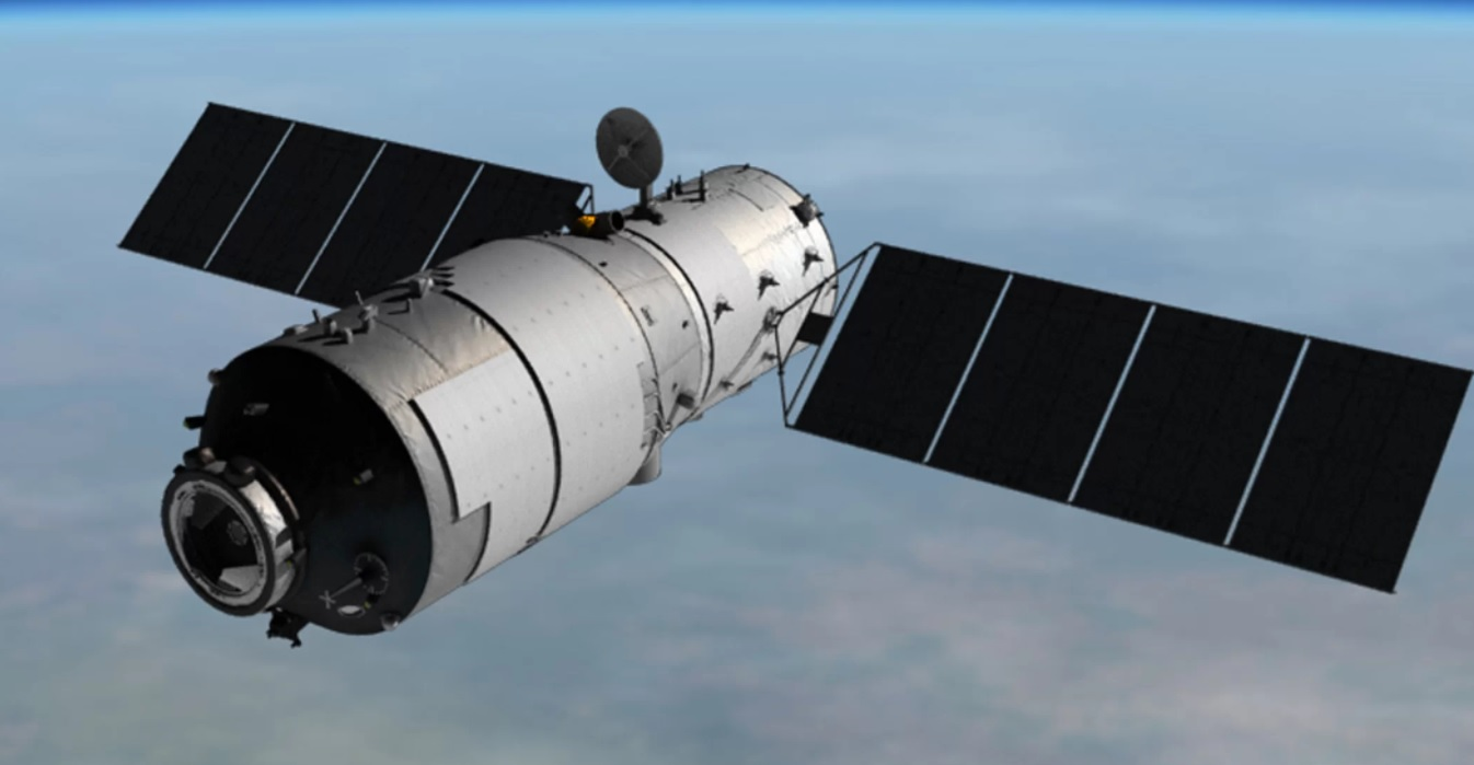 Tiangong 1 space station China