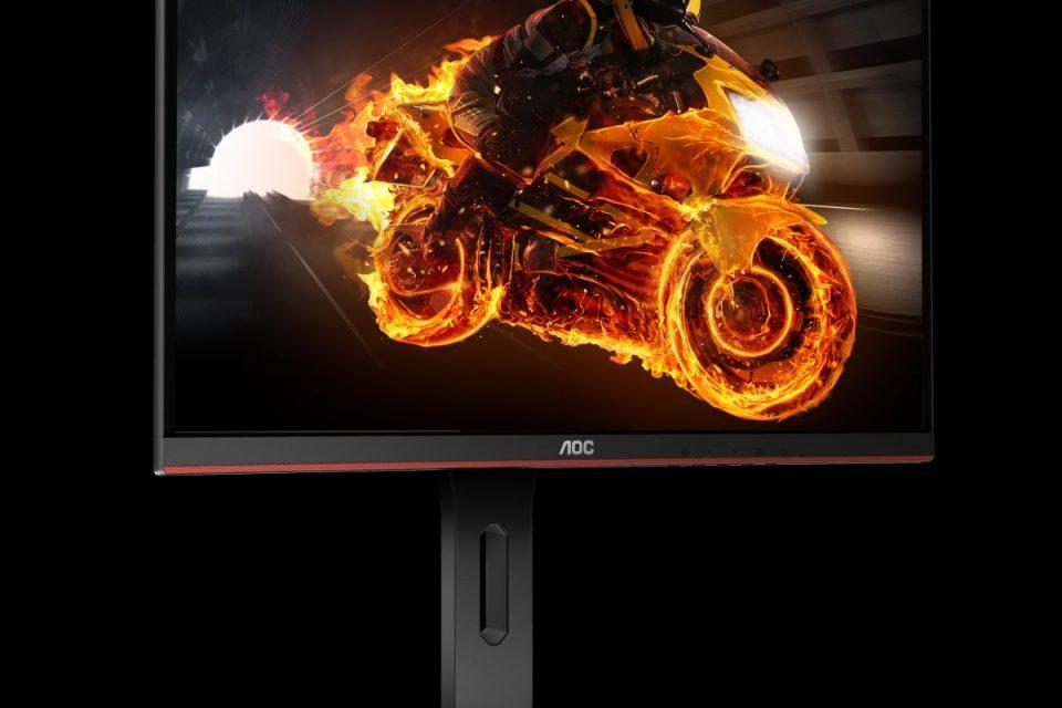 Нови извити монитори с достъпна цена: AOC серията G1