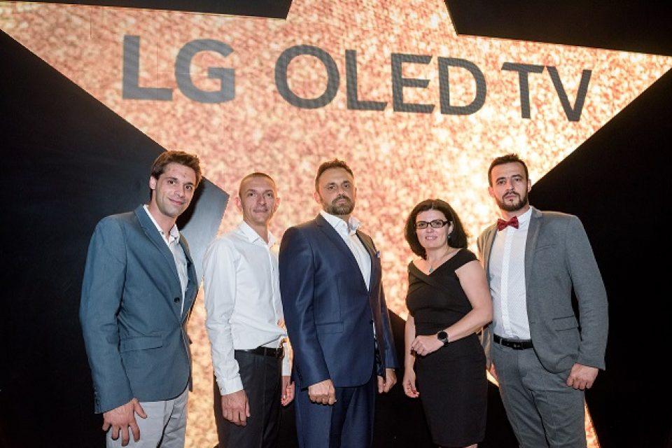 LG представи премиум серията OLED телевизори за 2018 и в България
