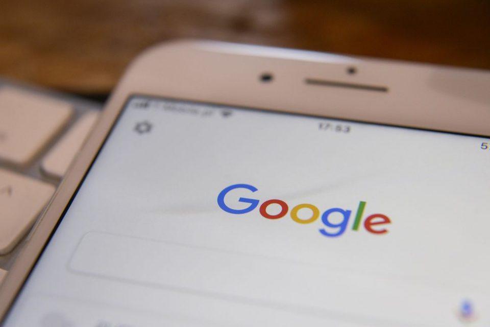 Google се хвали в началната си страница как стимулира икономиката