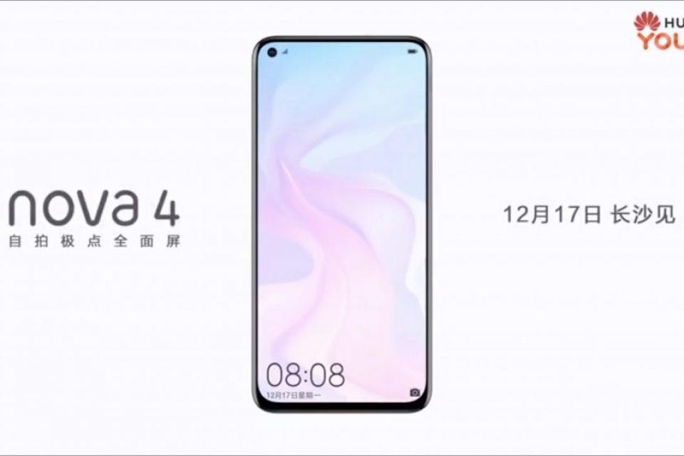 Huawei Novа 4 има по-малък отвор на екрана от Galaxy A8