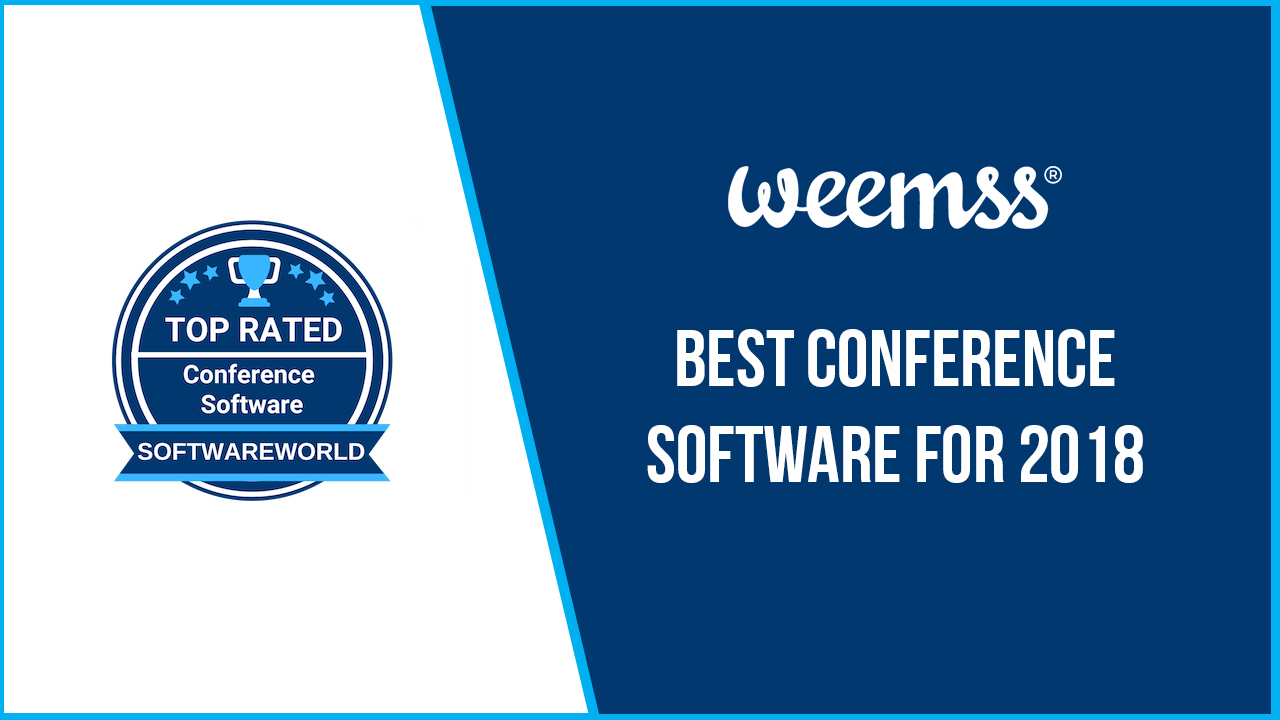 """4f5120f65df Българският софтуер Weemss е класиран на 4-то място в международната  класация на SoftwareWorld – """"Топ софтуерите за конференции за 2018 г.""""."""