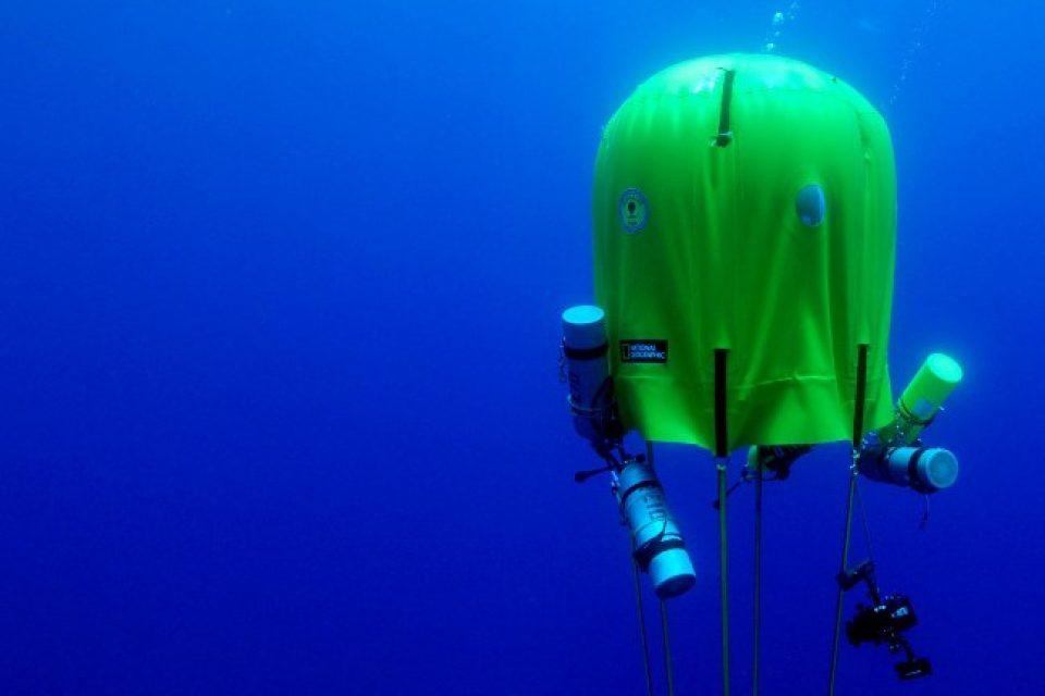 Създадоха първата подводна палатка