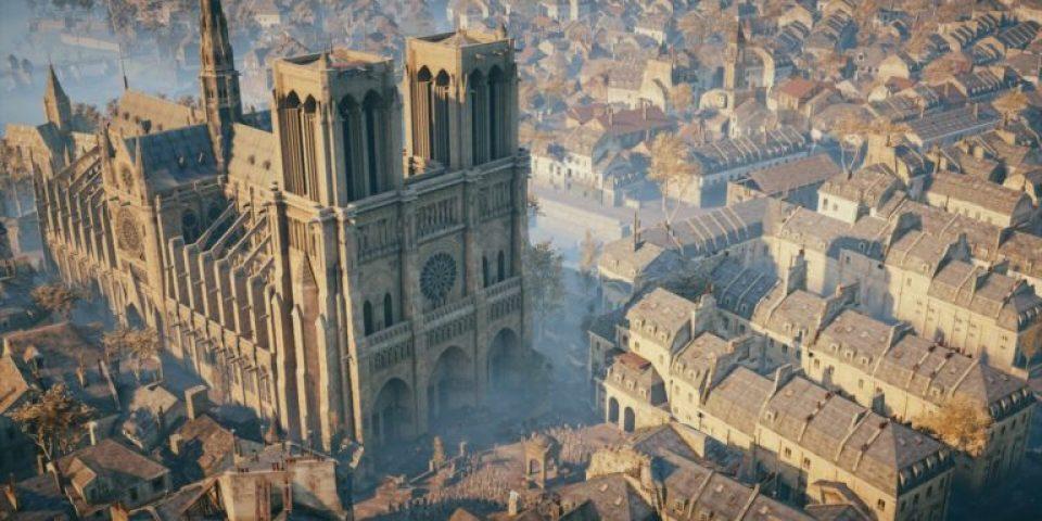 Ще използват играта Assassin's Creed за възстановяване на Нотр Дам