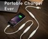 Вижте Portal Cord – първото в света преносимо зарядно устройство в кабел