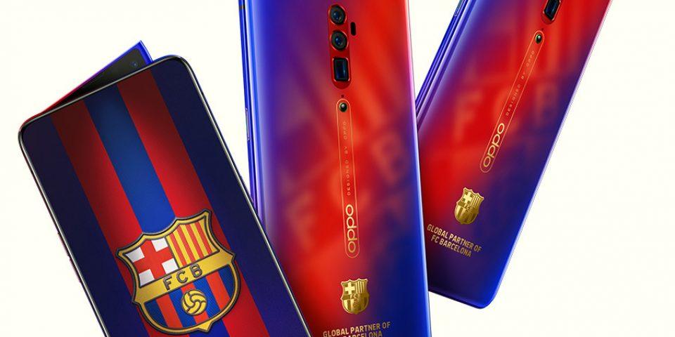 OPPO пусна лимитирана версия на своя Reno 10x zoom, посветена на футболния клуб Барселона