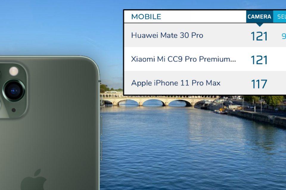 iPhone 11 Pro Max остана на трето място в класацията на DxOMark за качество на камерата