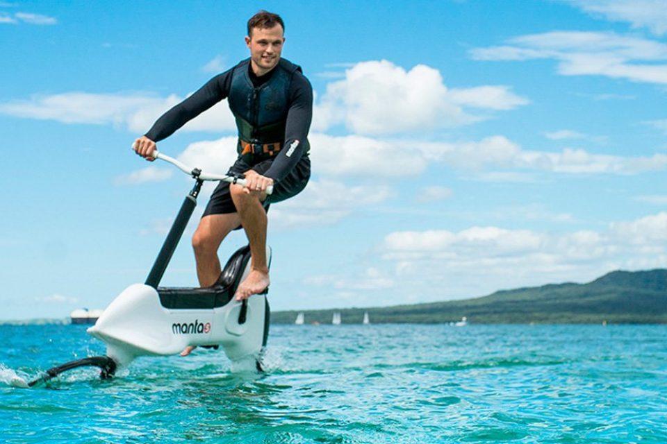 Новозеландска компания изобрети воден велосипед