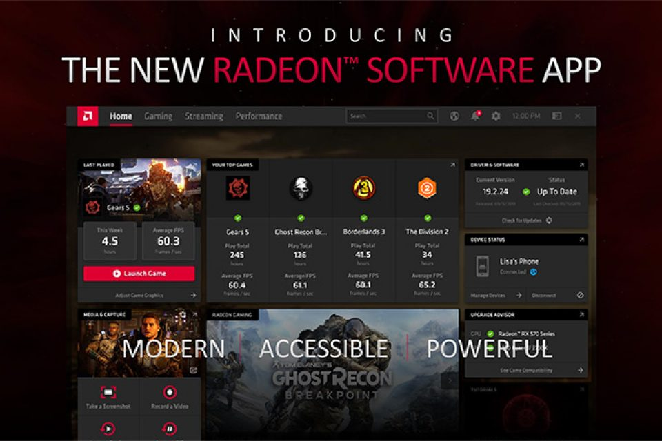 Бета драйвер на Radeon Software Adrenalin 2020 Edition 20.2.2