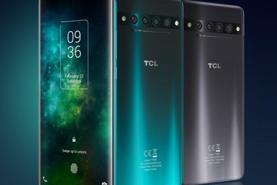 TCL 10 Pro идва с 64 мегапикселова камера и извит дисплей