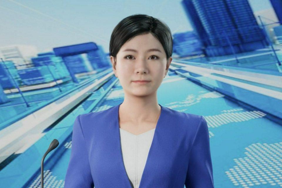Втори дигитален водещ се появи в новините на Синхуа
