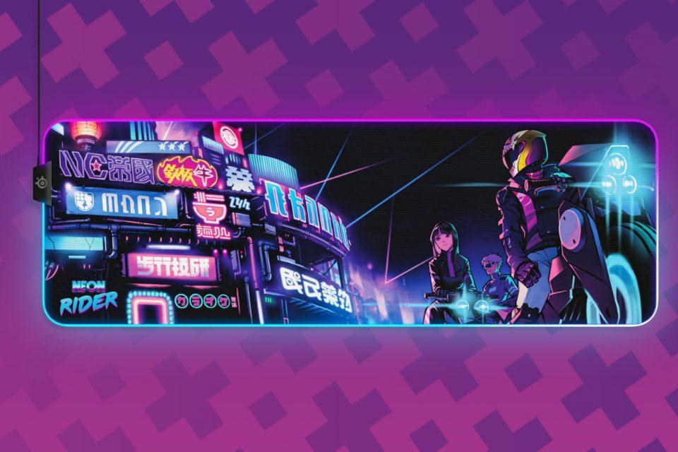 SteelSeries представя нова CS-GO версия с ограничено издание: Neon Rider Collection
