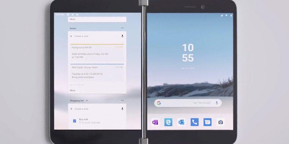 Microsoft Surface Duo може да пристигне с разширена поддръжка на стилус
