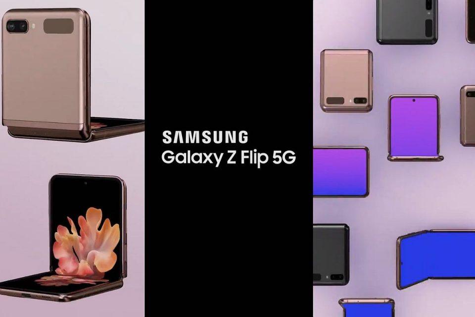 Galaxy Z Flip 5G се появи в ново видео
