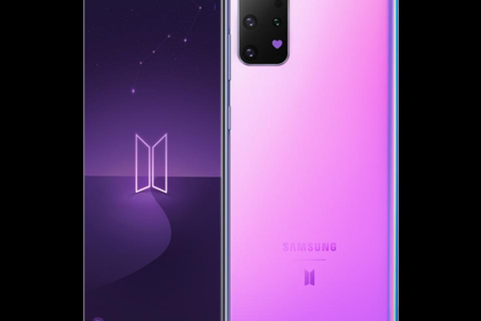 Теленор предлага специалната BTS версия на Samsung Galaxy S20+