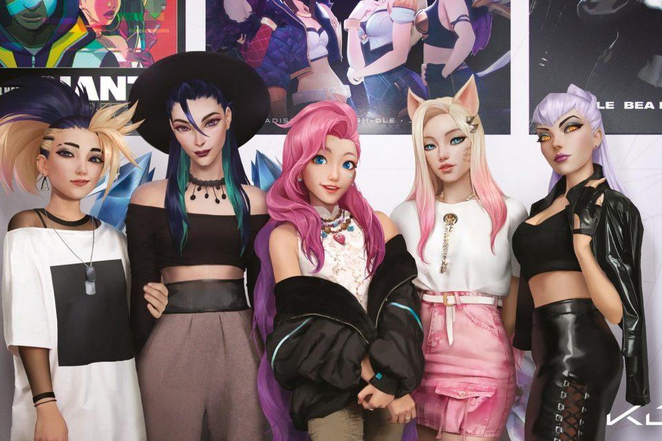 Виртуална банда с герои от видеоигри издаде реален албум